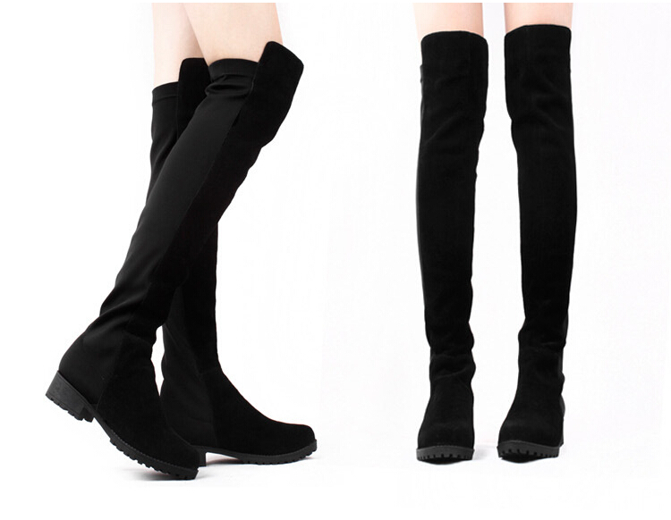 Popular Stretch Knee High Boots-Buy Cheap Stretch Knee High Boots ...