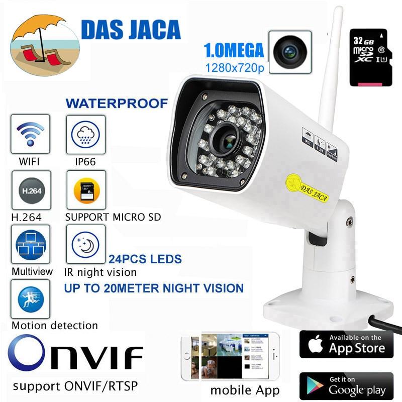 Das Jaca 32GB Wireless IP Camera 1.0Mega 720P HD Infrared Night Vision Outdoor Surveillance CCTV security Camera Infrared Night manas das v k jain and p s ghoshdastidar nanofinishing process using magnetorheological polishing medium