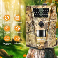 Outlife 1080P Trail Camera Hunting Video Camera Trap 12MP 30pcs Infra LEDs Digital Camera 850nm Wild Camera 120 Degree Angle