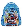 5D The Avengers crianças sacos de moda back pack crianças esfriar sacos de escola para as crianças Capitão América crianças mochila meninos alta qualidade