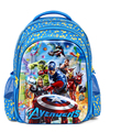 5D The Avengers niños bolsas de moda mochila cool kids Capitán América para niños mochila mochilas escolares para los niños chicos altos calidad