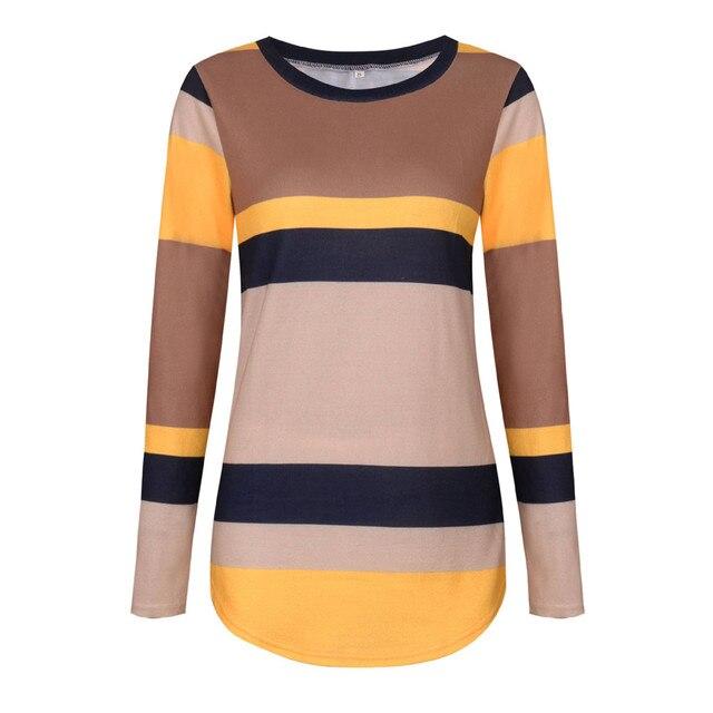 0d42c72d Fashion Women T-Shirts Casual Long Sleeve Knitted Shirts Sequins Elbow  Patch T-Shirt Women Tops