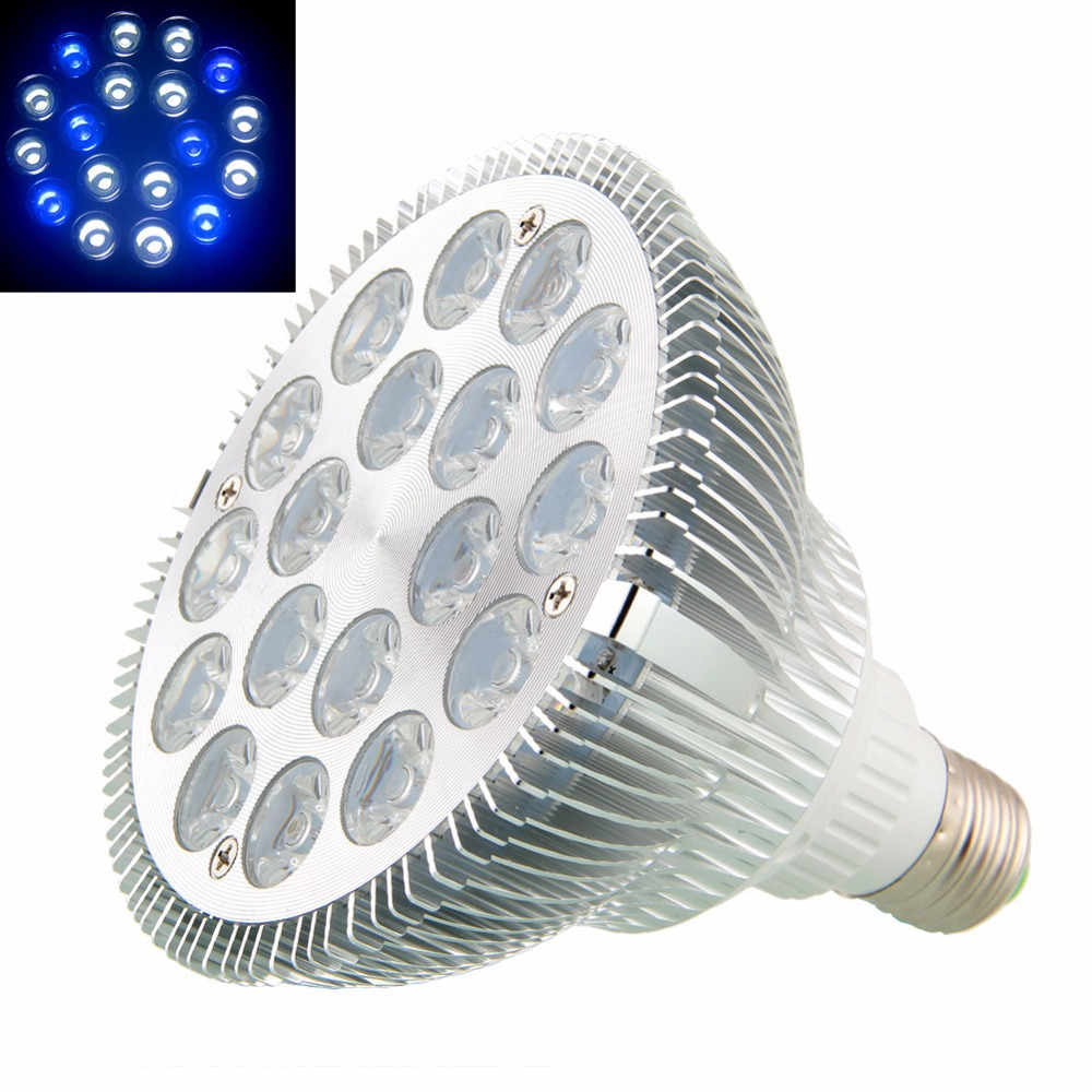 Fish aquarium light bulbs - 4x E27 54w 54w Led Grow Light Bulb Lamp Coral Reefs And Fishes Aquarium Led Light