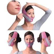 Lifting twarzy narzędzia do wyszczuplania twarzy maska odchudzanie twarzy cienki masażysta podwójny podbródek skóry do wyszczuplania twarzy bandaż pas kobiety lifting twarzy narzędzie tanie tanio Z włókna szklanego as listing Prettysoul
