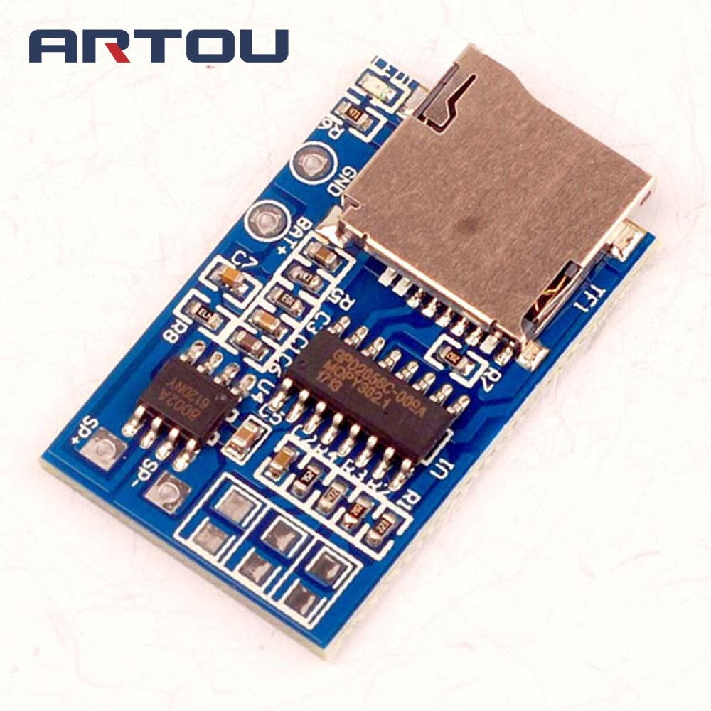 Electronic Components & Supplies 1pcs Great It Gpd2846a Tf Card Mp3 Decoder Board 2w Amplifier Module For Arduino Gm Power Supply Module Active Components