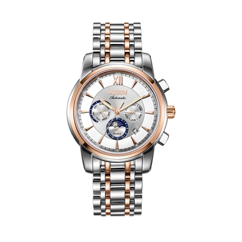 Men's NESUN Swiss Automatic Mechanical Multifunctional Watch 1
