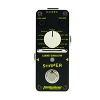 AROMA Tom Sline ASR 3 Shaper Cabinet Simulator Mini Single Electric Guitar Effect Pedal With True