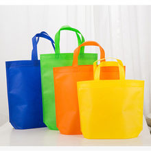 1PC Environmental Shopping Bag Reusable Foldable Nonwoven Tote Bag Grocery Storage Handbag(China)