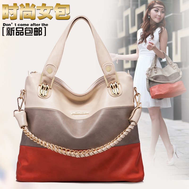 New collection  high quality OPPO brand leather shoulder bags for women Vintage