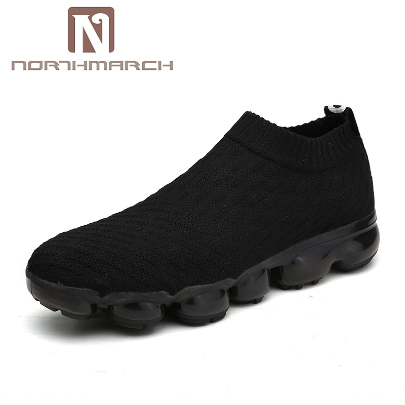 NORTHMARCH Hot Sale Summer Shoes Men Outdoor Walking Sneakers Shoes For Men Slip-On Breathable Mesh Comfortable Men Trainers