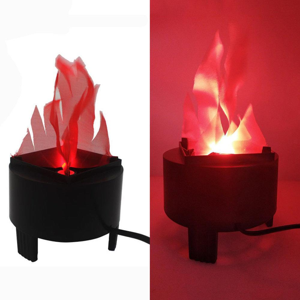 Virtual Fake Fire Flame Stage Effect Light Led Cloth Silk Flame Torch Light For Party KTV Bar Entertainment Stage Lamp