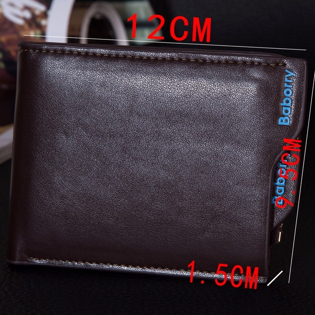 Hot Fashion Wallets for Men with Coin Pocket Wallet ID Card holder Purse