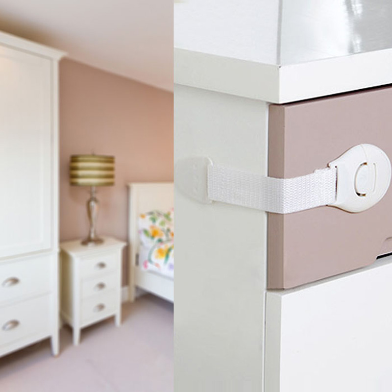 5PCS-tekstiilihihna muovinen solki monitoimilaatikon laatikko / - Vauvan turvallisuus - Valokuva 4