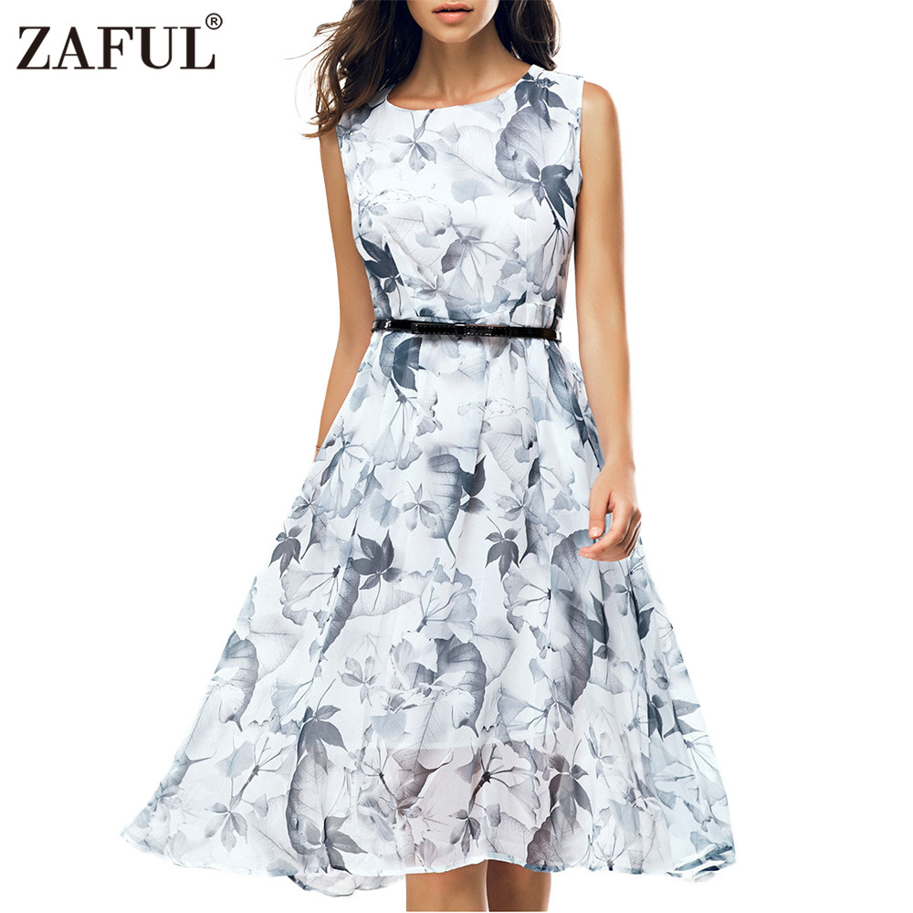 Aliexpress.com : Buy ZAFUL 2017 Women Vintage Summer Dress ...
