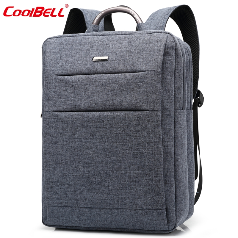 Cool Bell Watererproof 15.6 inch Laptop Computer Backpack Fashion Business Backpack Men Women School Bags for Teenage Boys Girls