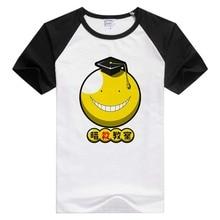 FOR Assassination Classroom short sleeve casual Men Women T-shirt Comfortable Tshirt Cool Print GA613