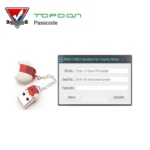 Newest Version PASS-CODE Calculator Scion Auto Key Programmer passcode Original Development Pass code Tool