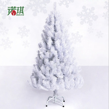 Christmas New Year gift 1.2 m / 120cm white luxury encryption Christmas tree decorations Christmas living room bar mall