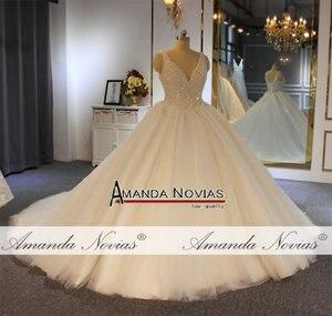 Image 3 - Vestido de novia con perlas, pedido al cliente