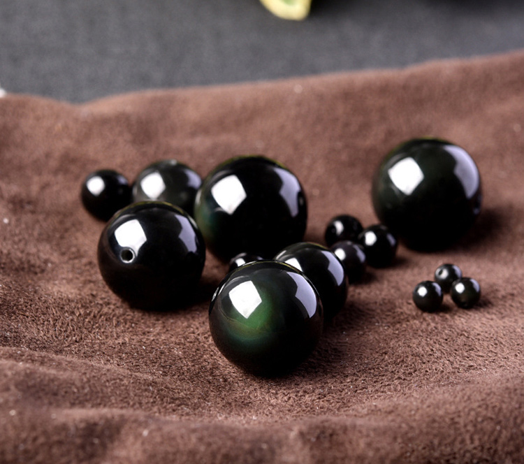 Black-Obsidian-Rainbow-Eye-Beads-Ball-Necklace_02