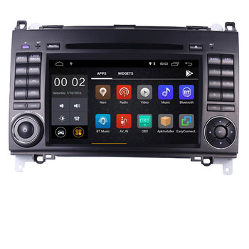 7IPS Touch Screen Android 10 Car DVD Player for Mercedes-benz B200 W169 A160 Viano Vito GPS NAVI RADIO BT wifi 3G dvr free map image