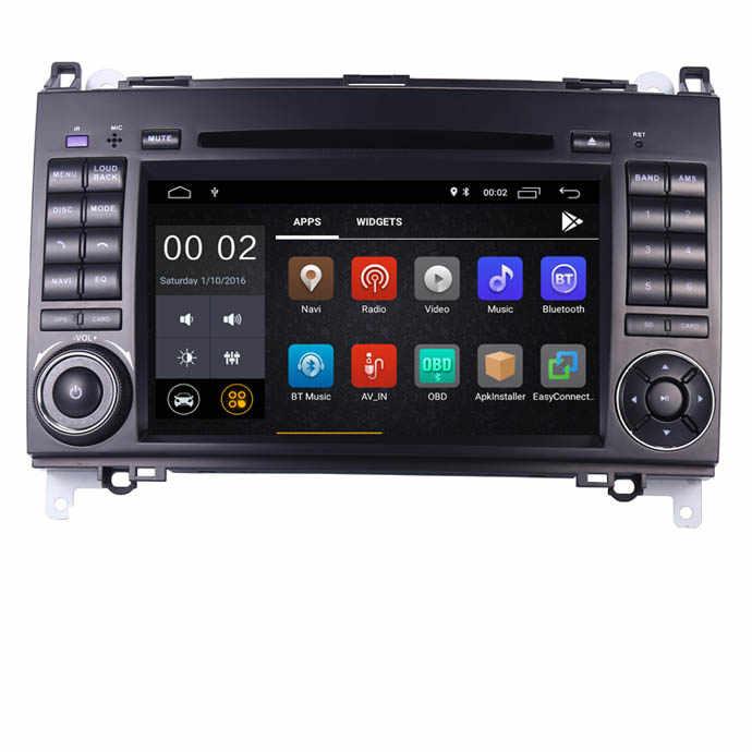 "7 ""ips Сенсорный экран Android 8,1 dvd-плеер автомобиля для Mercedes-benz B200 W169 A160 Viano Vito gps NAVI Радио BT Wi-Fi 3g dvr бесплатную карту"