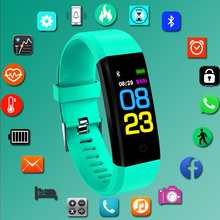 Новинка 2019 года Человек Спорт часы с Bluetooth приборы для измерения артериального давления сердечного ритма мониторы Смарт часы мужской фитнес трекер