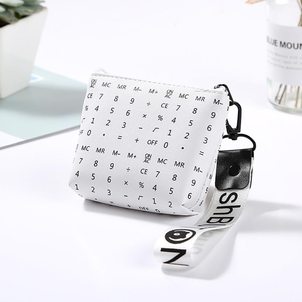 SANWOOD Women Mini Geometric Coins Keys Purse Holder Clutch Bag Case Wallet kawaii pouch monederos mujer monedas pullu cuzdan