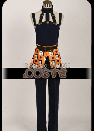 Free Shipping JoJo s Bizarre Adventure Part 4 Ghirga Narancia Cosplay Costume Perfect Custom For you