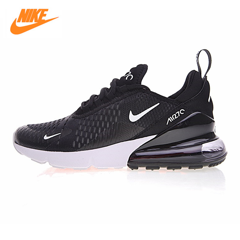 Nike Air Max 270 Men's Running Shoes, Black, Shock Absorption Non-slip Wear Resistant Breathable Lightweight AH8050 002 цена