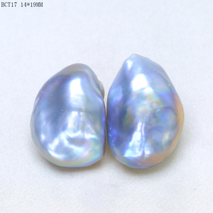 Image 5 - BaroqueOnly 10 20mm clean surface irregular baroque pearl beads natural freshwater purple pearl  for diy jewelry macking BCT