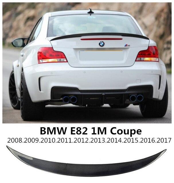 Carbon Fiber Spoiler For BMW E82 1M M135i COUPE 2008.2009