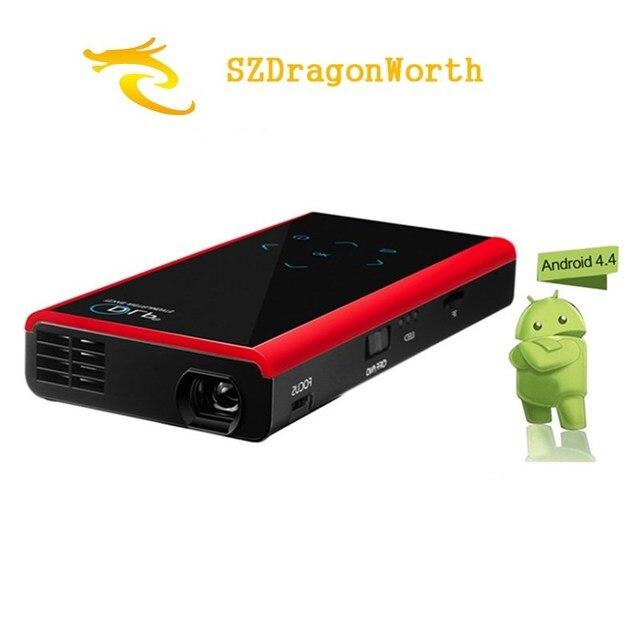 Мини-Карманный Проектор DLP Беспроводной Wi-Fi HD E06S Беспроводной Wi-Fi Поддержка 1080 P Full HD Android 4.4 Miracast Proyector На Открытом Воздухе