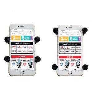 Image 2 - Cep telefonu Cradle tutucu için evrensel x grip cep telefonu 1 inç top RAM Mounts