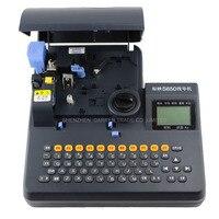 Усадка трубка Электронная наборная машина ПВХ трубки, принтер термоусадочный кабель ID принтер маркировка проводов пресс машина S 650