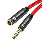 3.5mm Jack male TO 3.5mm Female Aux Extension Cable Audio Cable Headphone Extension Cable Cord for Computer