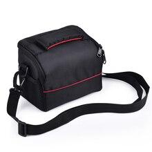Водостойкая камера сумка чехол фото сумка с наплечной лямкой для Canon EOS 1300 200D Nikon sony FujiFilm Olympus Panasonic DSLR s