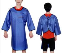 0.35mmpb Lead rubber clothing , x ray protective long sleeves apron,Industrial protective clothes.clinic apparel