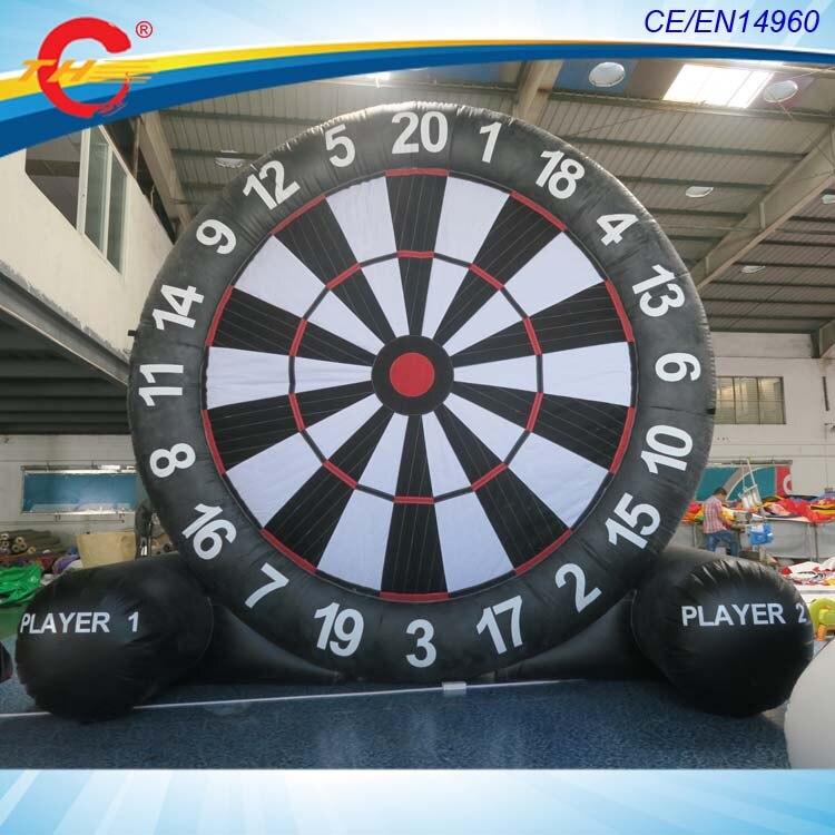 Aliexpress Com Buy G319 Soccer Shooting Custom: Amazing Giant Soccer Darts Game 5m Giant Inflatable Soccer