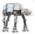 LEPIN Motorizado A Pie de STAR WARS AT-AT Modelo Modelo de Bloques de Construcción Ladrillos Niños Juguetes Marvel Compatible Legoe