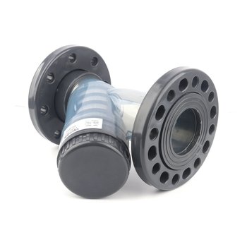 """3"""" DN80 Big Y-Type Transparent U-PVC Filter Visible Pipe Line Filter Agricultural Irrigation System Industrial Pump Tube Filters"""