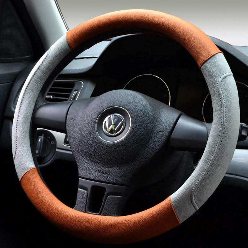 2018 Yeni spor Dört Mevsim araba direksiyon kapağı Araba Oto - Araç Içi Aksesuarları - Fotoğraf 5