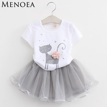 6802ee15be06e Popular Kitten Dress Girls Summer-Buy Cheap Kitten Dress Girls ...