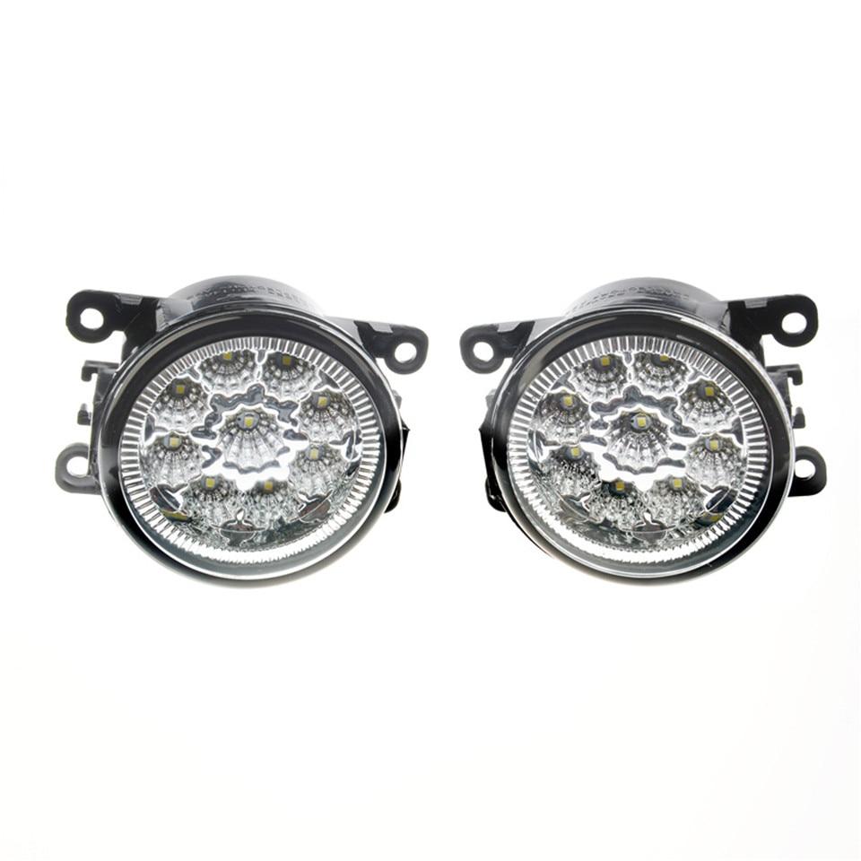 Brouillard Assemblage De La Lampe Super Lumineux Brouillard Lumière Pour Renault Duster Megane 2/3 Fluence Koleos Kangoo 2003-2015 LED Brouillard lumières 1 ensemble