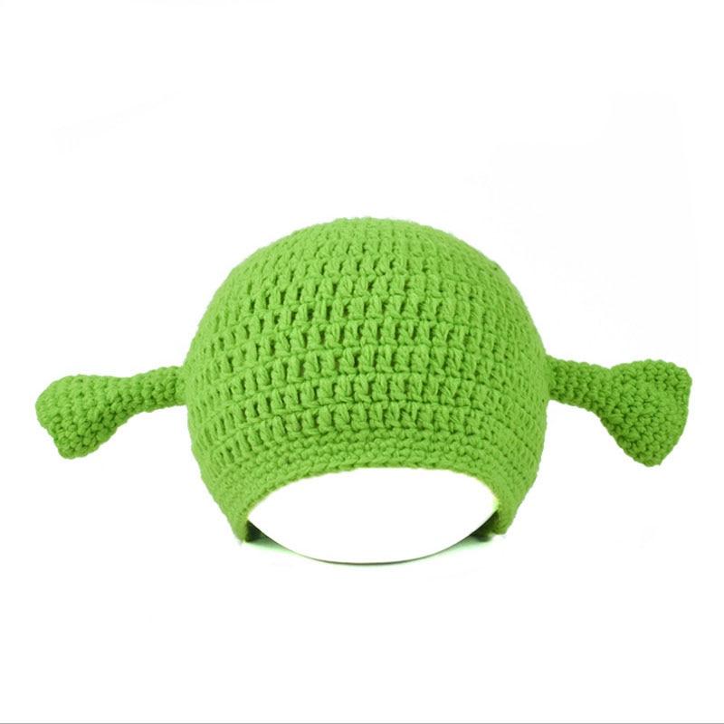 Novelty Cute Monster Shrek Beanies s
