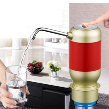 2017 neue Einfache Pumpe Wasser in die Flasche Elektrische Wasserspender mit Akku Trinkwasser Flaschen Küche Artikel