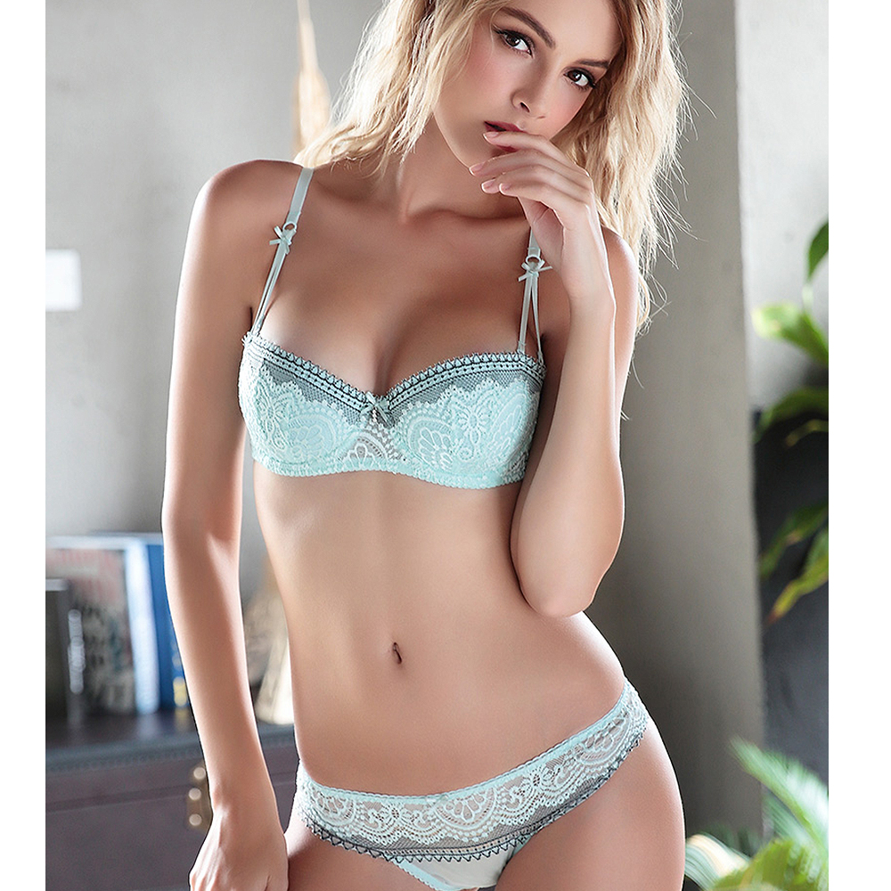 2019 sexy lingerie,  bra     brief     sets  , Lace Embroidery underwear,sexy young girl   bra     set  ,france brand   bra     sets  ,Big Cup ABCD 70758085
