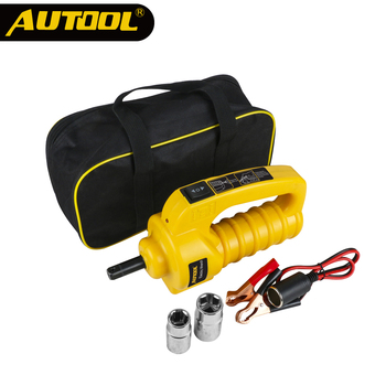 AUTOOL Electric Impact Wrench 12V Car Automotive Tire Repair Change Replace Impact Driver Electric Wrenches 480N.M Sleeve Socks