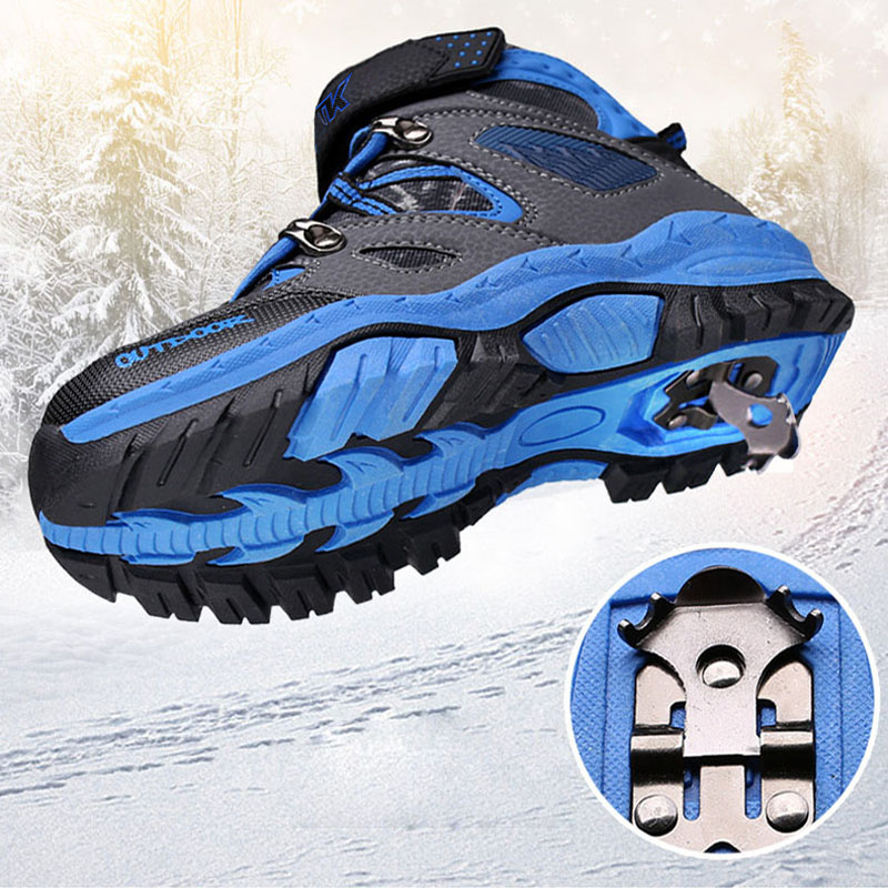 b8c715d6859 US $31.5 30% OFF Winter Boots for Boys Girls Kids Snow Shoes Teenagers  Children Hiking Shoes Walking Climbing Sneakers CN size 31 41-in Athletic  Shoes ...