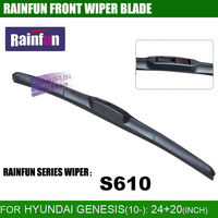 RAINFUN 24 20 Inch Dedicated Car Wiper Blade For HYUNDAI Genesis 10 Dedicated Windscreen Wiper Blade